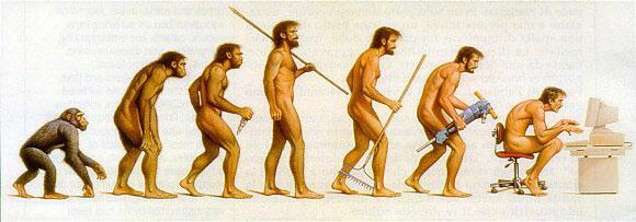 Die Entwicklung der Menschheit